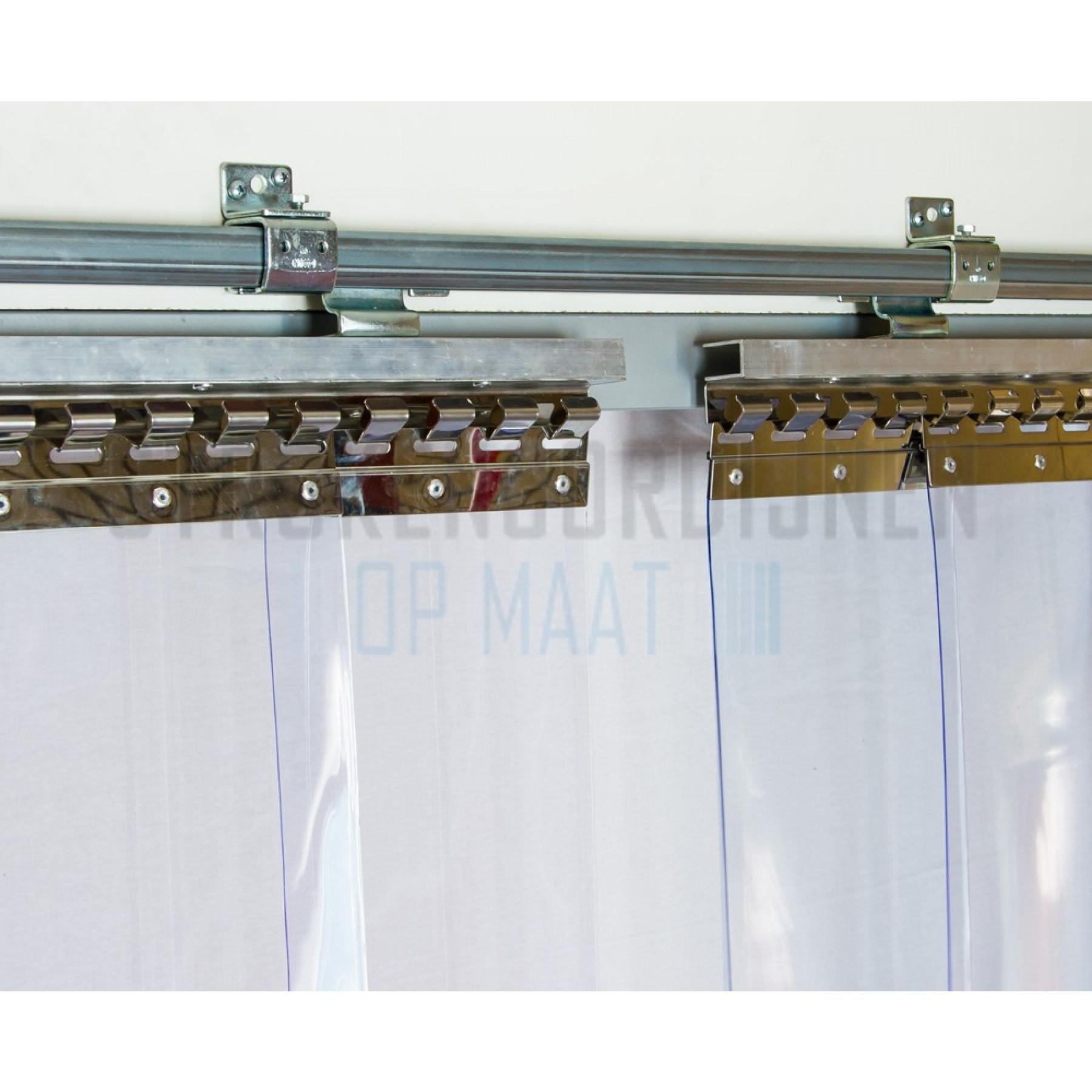 Ophangbeugel voor verschuifbare rail, wandmontage