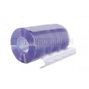 PVC stroken op maat, 1000mm breed, 2mm dik, transparant
