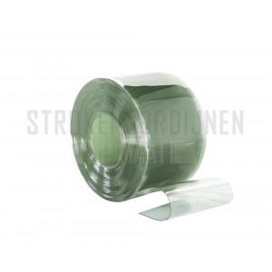 PVC op rol, 300mm breed, 3mm dik, 50 meter lengte, super diepvrieskwaliteit, transparant